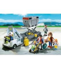 Playmobil аэропорт Авиапогрузчик с грузом и пассажиры 5262pm