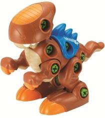 Конструктор Hap-p-Kid Динозавр с шуруповертом (коричневый) 4354T...