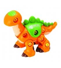 Конструктор Hap-p-Kid Динозавр с шуруповертом (оранжевый) 4352T...