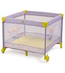 Кровать манеж Happy Baby Alex Violet