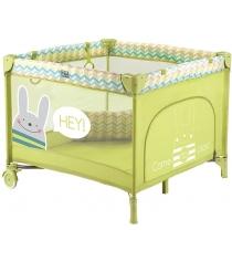 Кровать манеж Happy Baby Alex Green