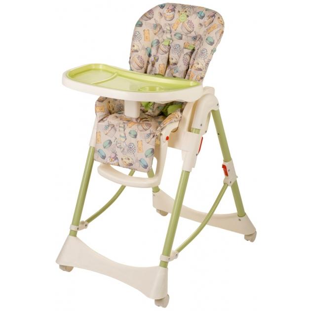 Стульчик для кормления happy baby kevin V2 Green