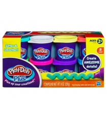 Детский пластилин play doh набор из 8 банок play doh plus a1206e24