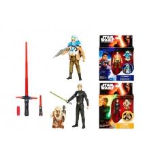 Детское оружие Hasbro Star Wars Набор Звездные войны световой меч делюкс B2948 и фигурка B3886 B2948N