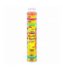 Детский пластилин play doh пластилин цветной 10 банок в тубе 22037477/22037148