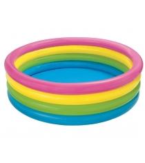 Надувной бассейн Intex 56441 радуга 168х46 см
