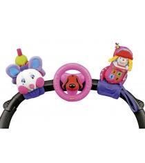 Набор игрушек Счастливое трио розовый K's kids KA581