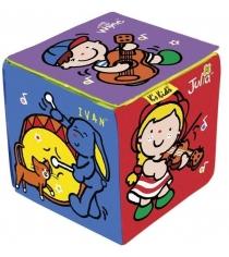 Развивающая мягкая игрушка K's Kids Музыкальный кубик KA664