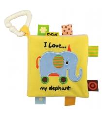 Книжка игрушка Ks kids Первые слова KA766