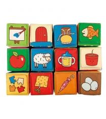 Мягкие кубики Ks kids обучайка 12 штук KA773