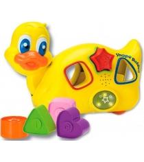 Музыкальная игрушка Keenway Уточка с паззлами 31539