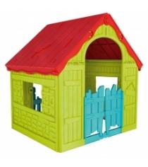 Keter Foldable Playhouse Складной Зеленый-красный 17202656
