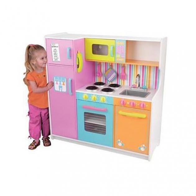 Деревянная кухня Kidkraft делюкс 53100_KE