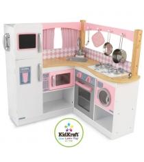 Деревянная кухня Kidkraft изысканный уголок 53185_KE