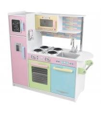 Деревянная кухня пастель 44178