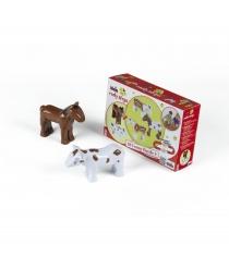 Магнитные 3D пазлы Klein лошадка и корова 0075K