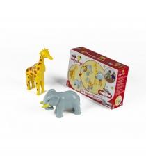 Магнитные 3D пазлы Klein жираф и слон 0076K