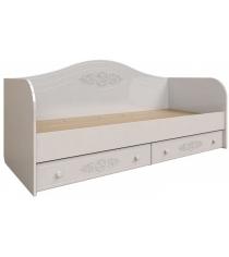 Подростковая кровать диван Ассоль АС-10 Белая