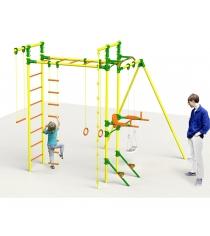 Детский спортивный комплекс с турником и брусьями Leco It Outdoor