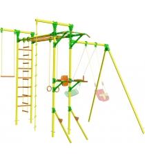 Детский спортивный комплекс с турником и брусьями Leco It Street
