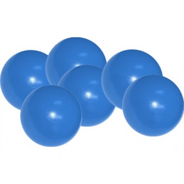 Мячики для манежа бассейна Leco диаметр 12 см 10 шт синие