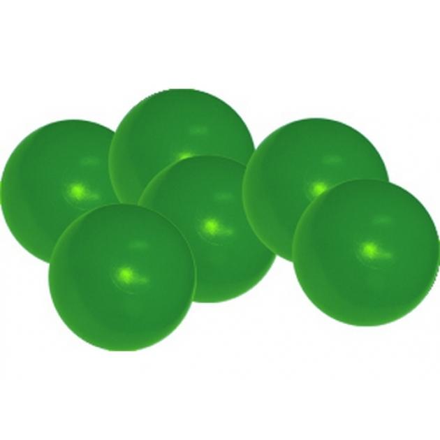Мячики для манежа бассейна Leco диаметр 12 см 10 шт зеленые