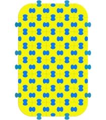 Пазловое покрытие для манежа Leco гп230232