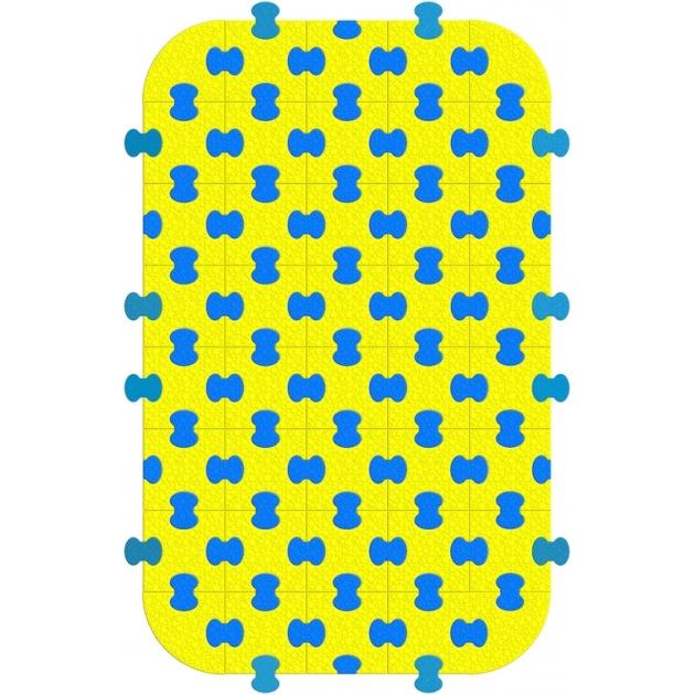Пазловое покрытие для модульного манежа Leco It Home 125х200 см