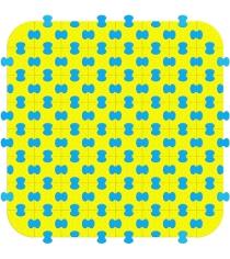 Пазловое покрытие для манежа Leco гп230234