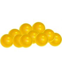 Шарики для сухих бассейнов Leco 320 штук желтый гп230605