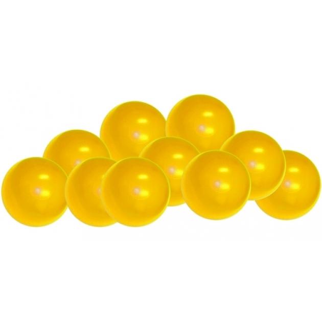 Шарики для сухих бассейнов Leco 320 штук желтый
