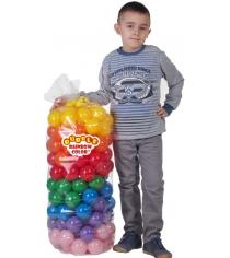 Шарики для сухих бассейнов Leco 160 штук 7 цветов гп230627