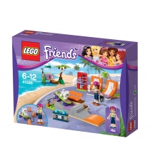 Lego Friends Скейт парк 41099