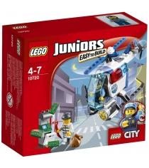 Lego Juniors Погоня на полицейском вертолёте 10720