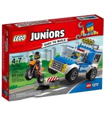 Lego Juniors Погоня на полицейском грузовике 10735