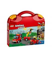 Lego Чемоданчик Пожарная команда 10740