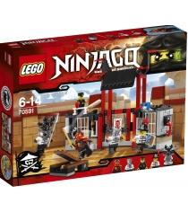 Lego Ninjago Побег из тюрьмы Криптариум 70591