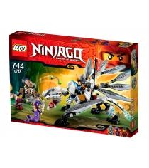 Lego Ninjago Титановый дракон 70748