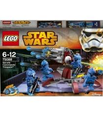 Lego Star Wars Элитное подразделение Коммандос Сената 75088