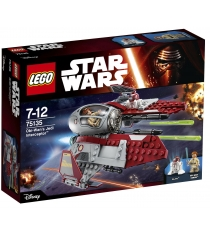 Lego Star Wars Перехватчик джедаев Оби Вана Кеноби 75135