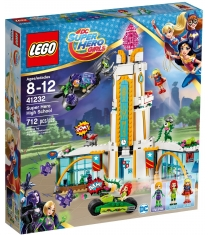 Lego DC Super Hero Girls Школа супергероев 41232