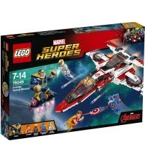 Lego Super Heroes Реактивный самолёт Мстителей Космическая миссия 76049