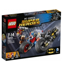 Lego Super Heroes Бэтман Погоня на мотоциклах по Готэм сити 76053