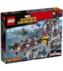 Lego Super Heroes Человек паук последний бой воинов паутины 76057