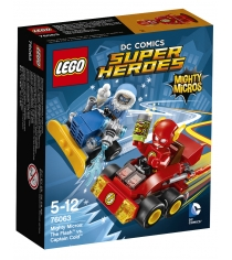 Lego Super Heroes Флэш против Капитана Холода 76063