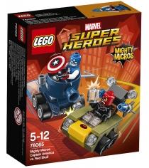 Lego Super Heroes Капитан Америка против Красного Черепа 76065...