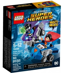 Lego Super Heroes Mighty Micros Супермен против Бизарро 76068