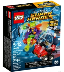 Lego Super Heroes Mighty Micros Бэтмен против Мотылька-убийцы 76069