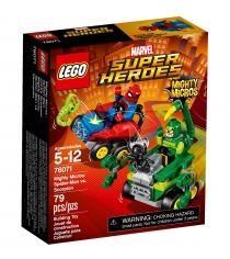 Lego Super Heroes Mighty Micros Человек-паук против Скорпиона 76071
