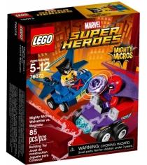 Lego Super Heroes Mighty Micros Росомаха против Магнето 76073